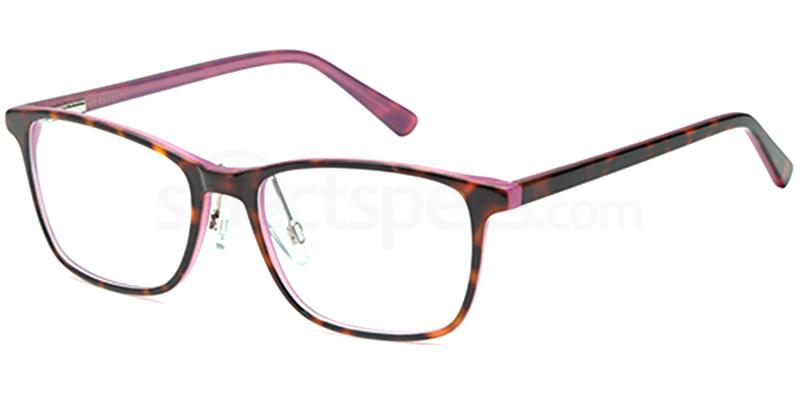 Demi Purple DEL128 Glasses, Delancy