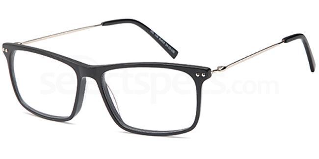 Black DEL130 Glasses, Delancy