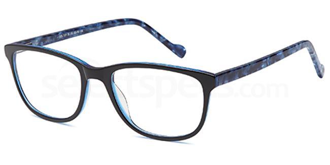 Blue DEL131 Glasses, Delancy