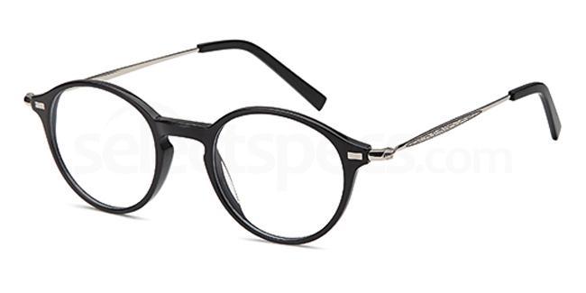 Black DEL132 Glasses, Delancy
