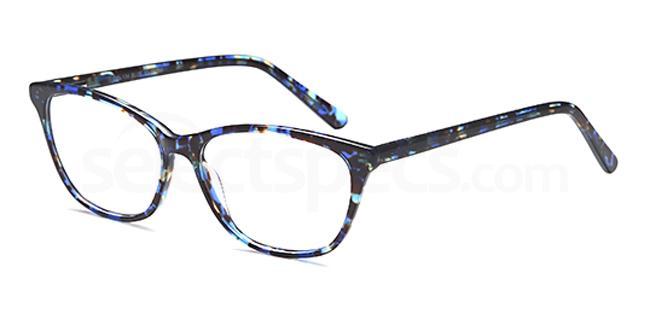 Blue DEL134 Glasses, Delancy