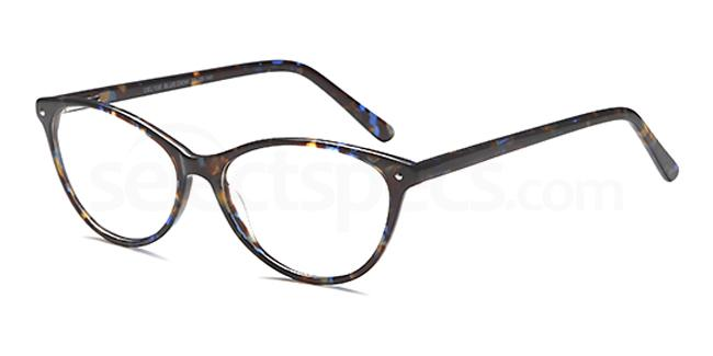 Blue/Demi DEL135 Glasses, Delancy