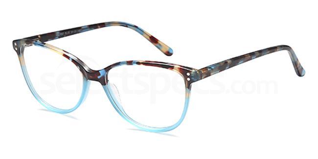Blue DEL137 Glasses, Delancy