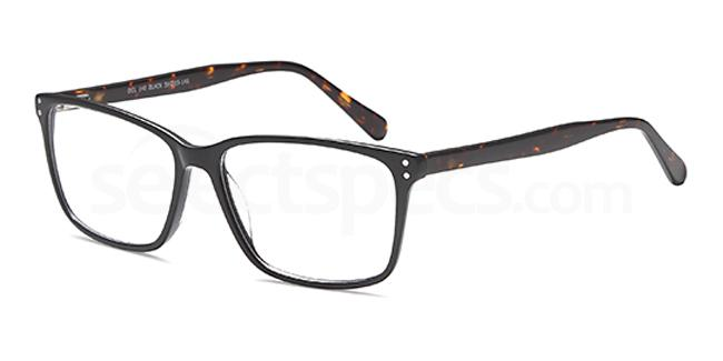 Black DEL140 Glasses, Delancy