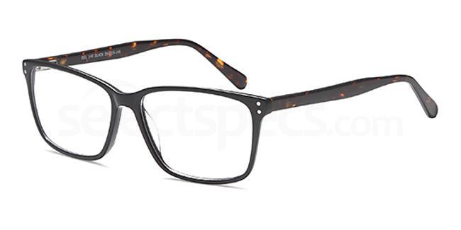 Black DEL140 Glasses, Delancy