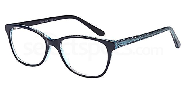 Blue DEL 142 Glasses, Delancy