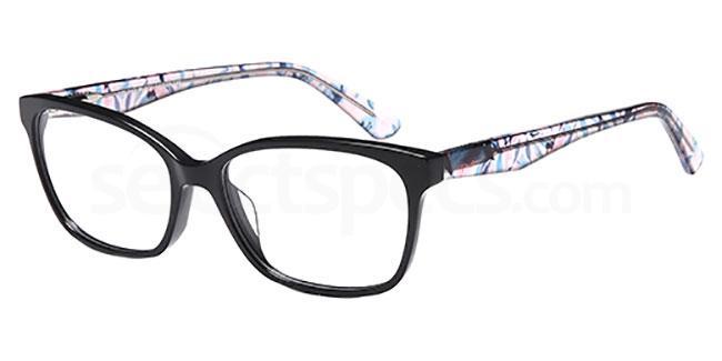 Black DEL 143 Glasses, Delancy
