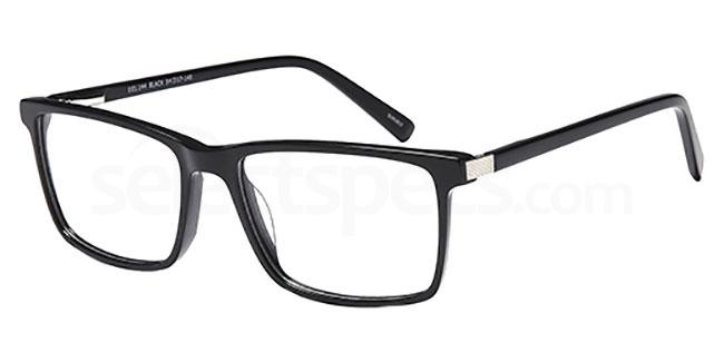 Black DEL 144 Glasses, Delancy