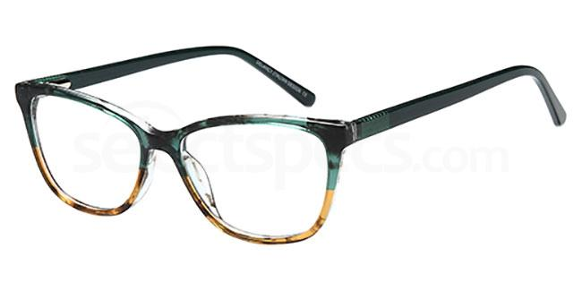 Green/Brown DEL 149 Glasses, Delancy