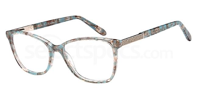 Blue DEL 150 Glasses, Delancy