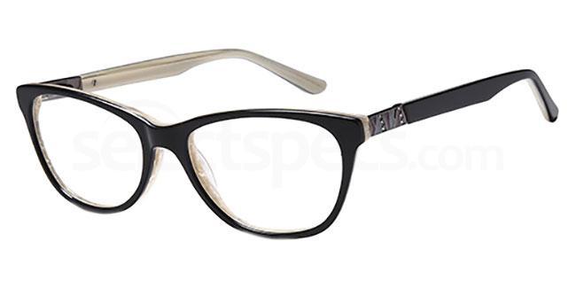 Black/Horn DEL 151 Glasses, Delancy