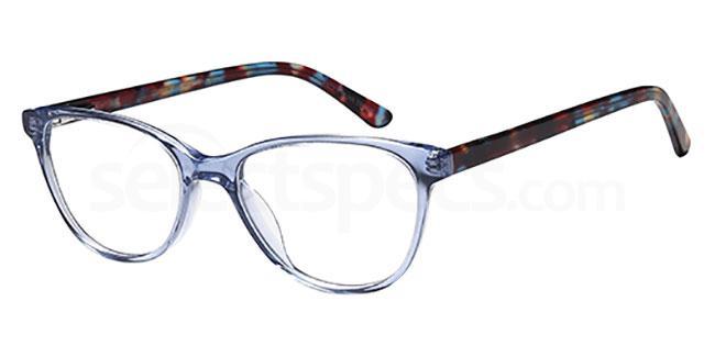 Blue Crystal DEL 152 Glasses, Delancy