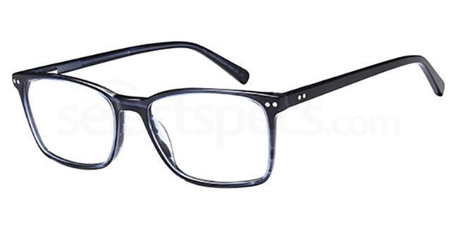 Blue DEL 153 Glasses, Delancy