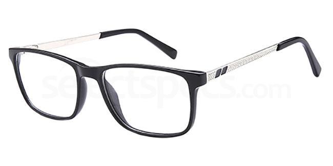 Black DEL 160 Glasses, Delancy