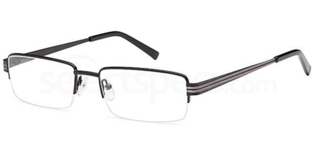Black CD7081 Glasses, Carducci