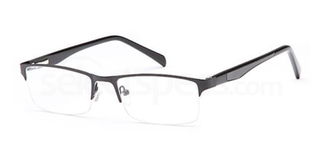 Matt Black CD7092 Glasses, Carducci