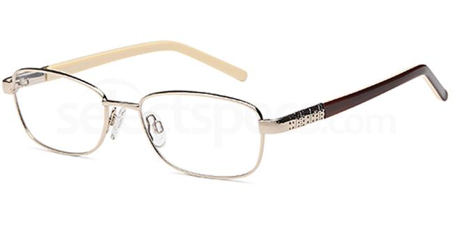 Gold CD7106 Glasses, Carducci