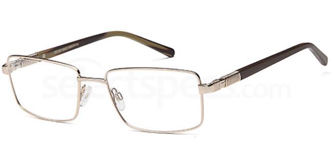 Gold CD7107 Glasses, Carducci