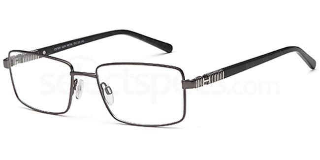 Gun Metal CD7107 Glasses, Carducci
