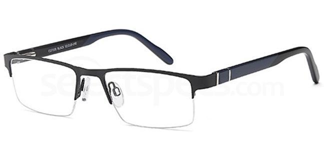 Black CD7108 Glasses, Carducci