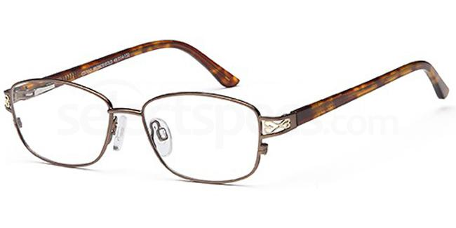 Bronze/Gold CD7112 Glasses, Carducci