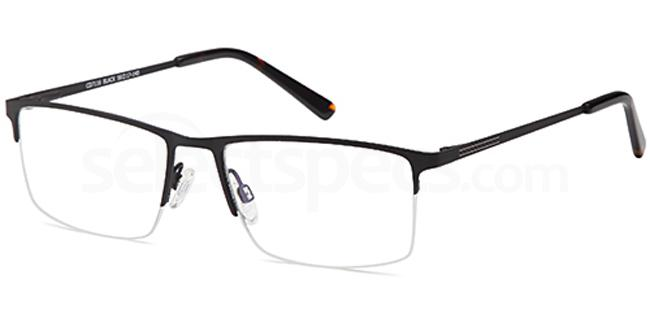 Black CD7116 Glasses, Carducci