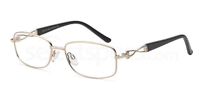 Gold CD7122 Glasses, Carducci