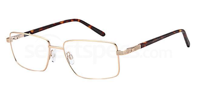 Gold CD7134 Glasses, Carducci