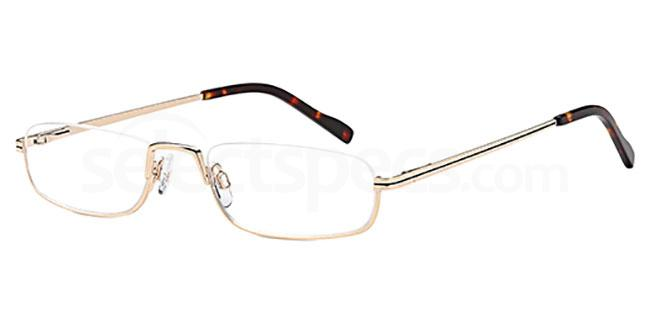 Gold CD7135 Glasses, Carducci