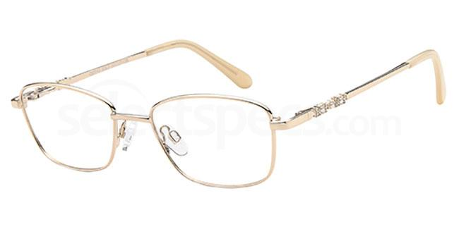Gold CD7143 Glasses, Carducci
