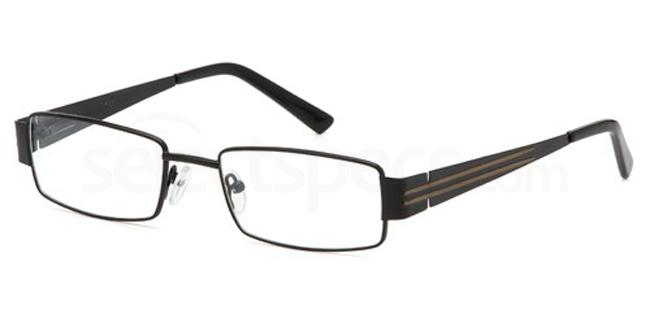 Black CDT7908 Glasses, Carducci Trend