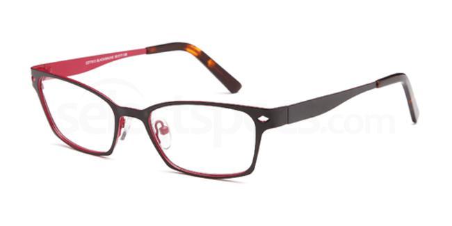 Black/Mauve CDT7913 Glasses, Carducci Trend