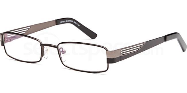 Black/Gun CDT7914 Glasses, Carducci Trend