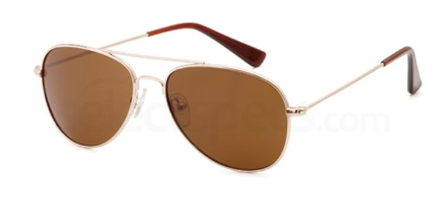 Gold CD1030 Sunglasses, Carducci Sun