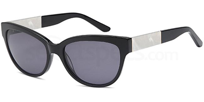 Black CD1055 Sunglasses, Carducci Sun