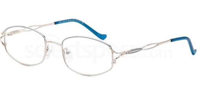 Blue/Silver SIG 009 Glasses, Sigma