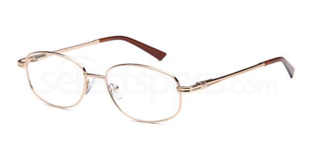 Gold SIG 014 Glasses, Sigma