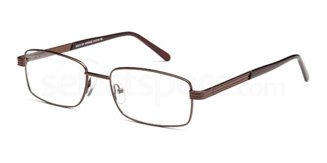 Bronze SIG 101 Glasses, Sigma