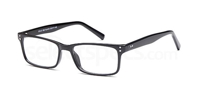 Black SIG 125 Glasses, Sigma