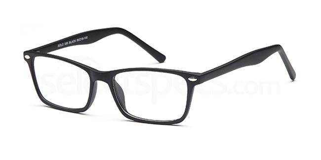Black SIG 128 Glasses, Sigma
