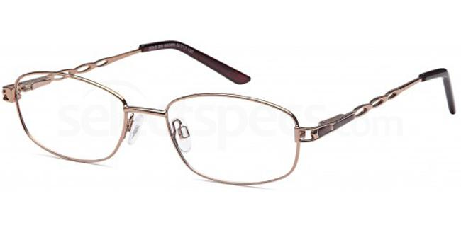 Brown SIG 141 Glasses, Sigma