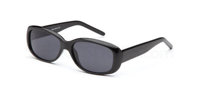 Black W28 Sunglasses, Solo Collection