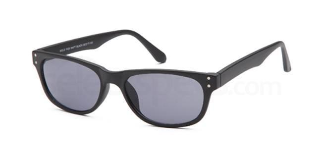 Matt Black W29 Sunglasses, Solo Collection