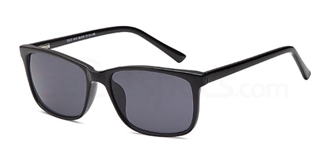 Black SUN 42 Sunglasses, Solo Collection