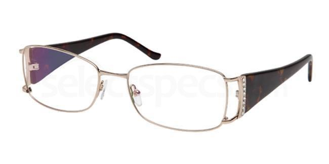 Gold FOS116 Glasses, Foschini