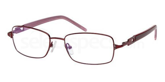 Burgundy FOS119 Glasses, Foschini