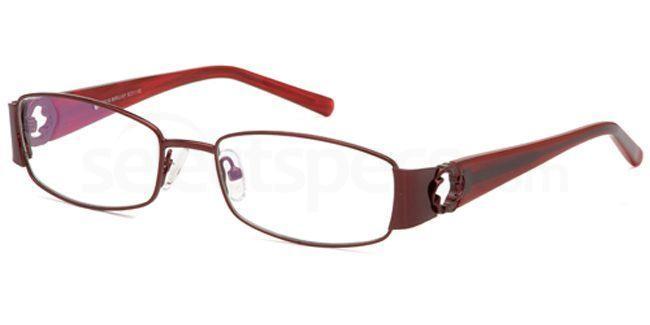 Burgundy FOS130 Glasses, Foschini
