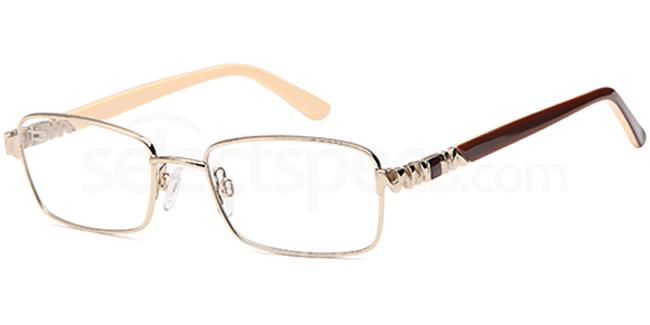 Gold FOS210 Glasses, Foschini