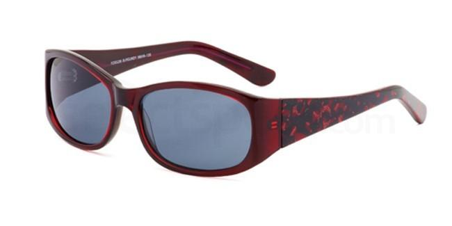 Burgundy FOSS239 Sunglasses, Foschini