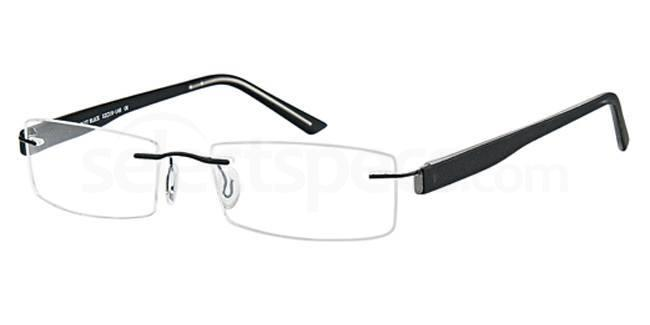 Matt Black EMP7555 Glasses, Vista